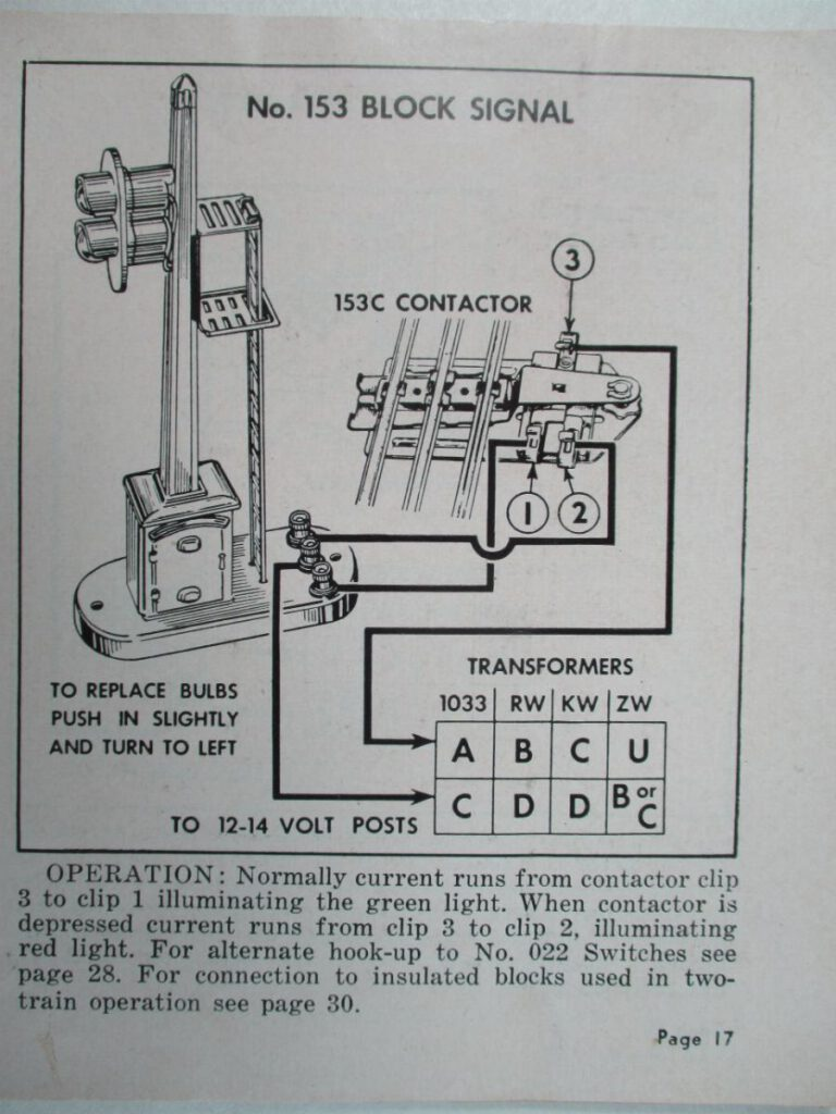 Wiring diagram for 153c contactor.